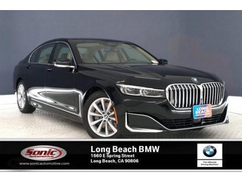 Jet Black 2020 BMW 7 Series 740i Sedan
