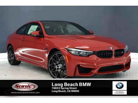 Melbourne Red Metallic 2020 BMW M4 Coupe