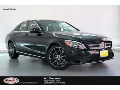 Black 2019 Mercedes-Benz C 300 Sedan