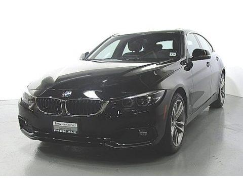 Jet Black 2019 BMW 4 Series 430i xDrive Gran Coupe