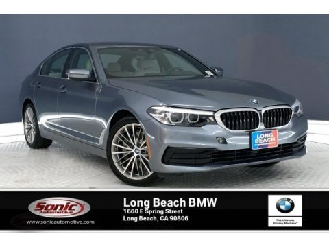 Bluestone Metallic 2019 BMW 5 Series 530i Sedan