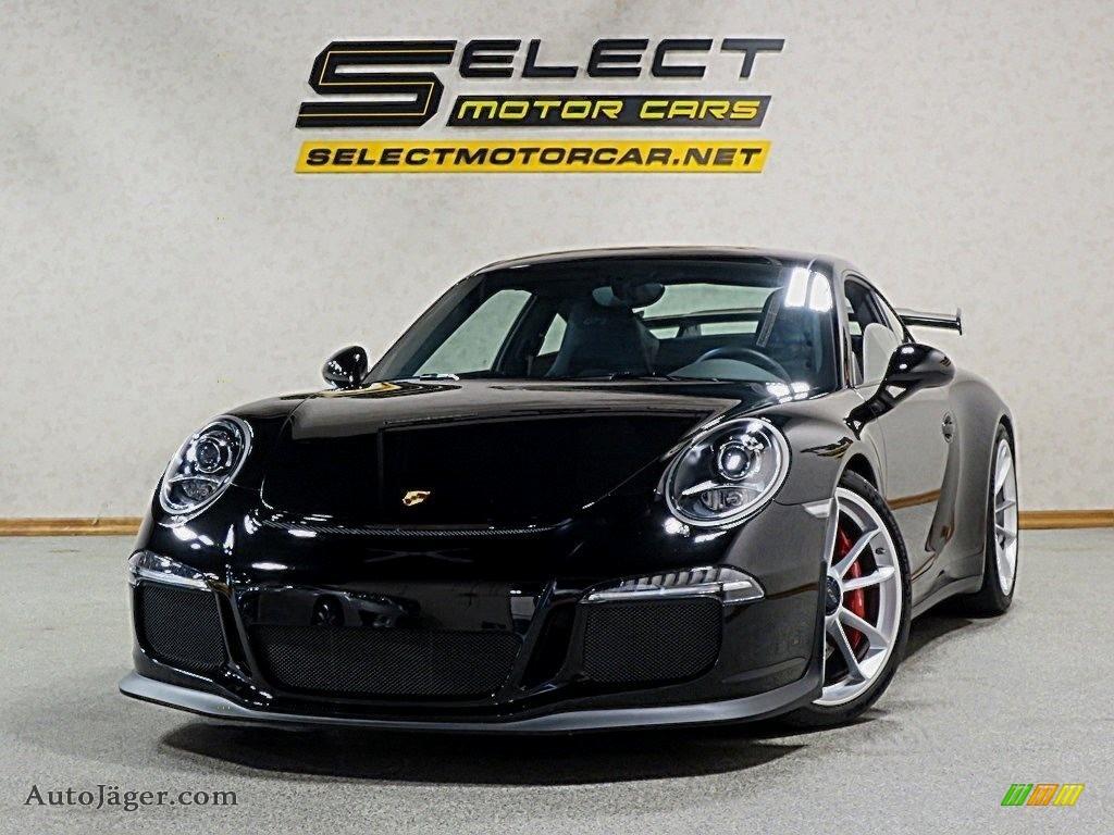 2015 911 GT3 - Black / Black w/Alcantara photo #1