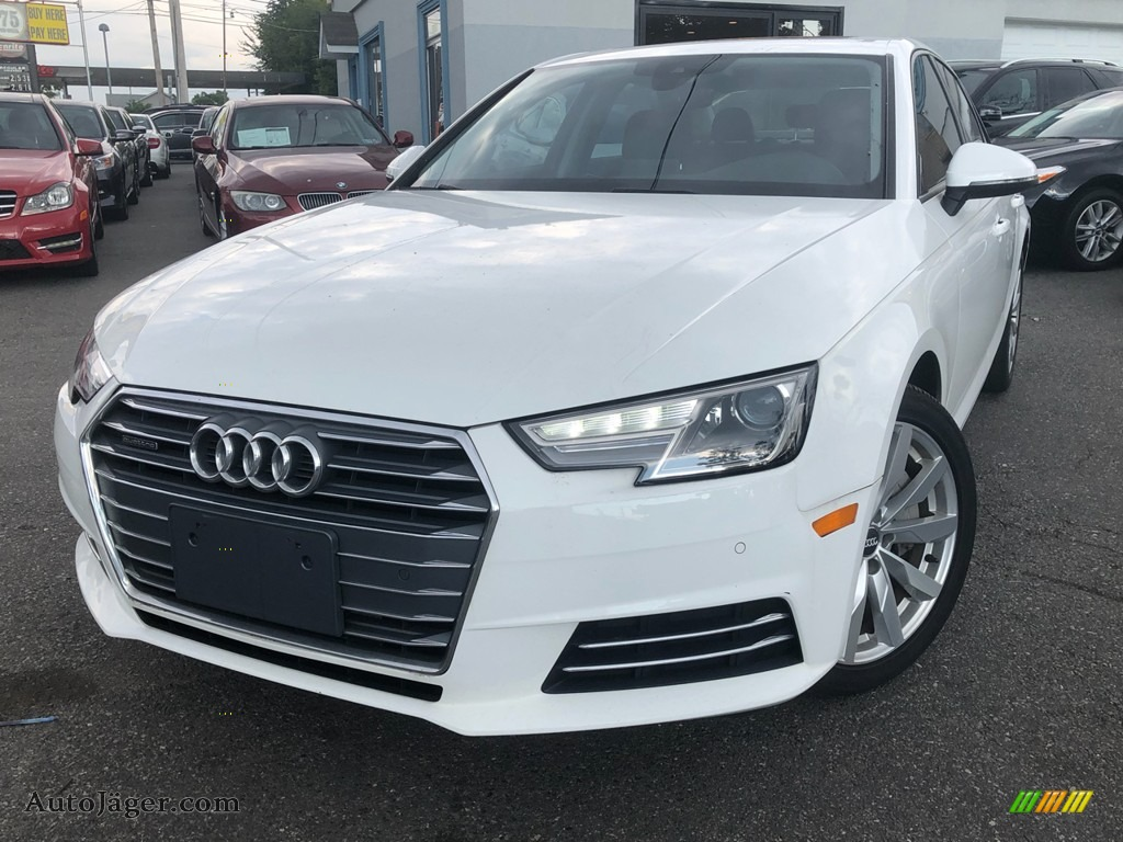 2017 A4 2.0T Premium quattro - Ibis White / Black photo #1