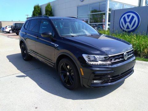 Deep Black Pearl 2019 Volkswagen Tiguan SEL 4MOTION