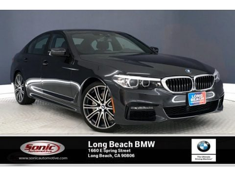 Dark Graphite Metallic 2019 BMW 5 Series 540i Sedan