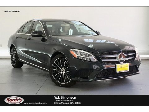 Emerald Green Metallic 2019 Mercedes-Benz C 300 Sedan