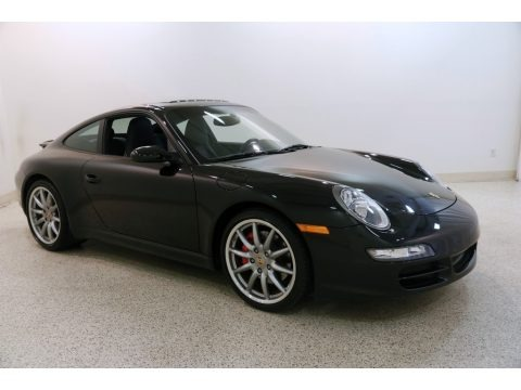 Black 2008 Porsche 911 Carrera S Coupe