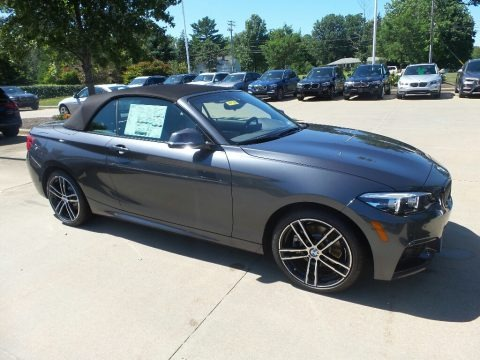 Mineral Grey Metallic 2020 BMW 2 Series 230i xDrive Convertible