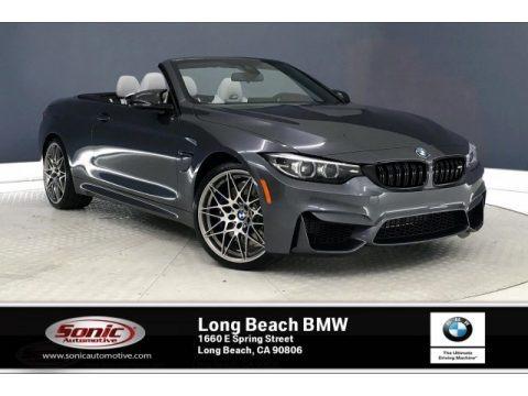 Mineral Grey Metallic 2020 BMW M4 Convertible