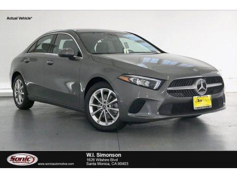 Mountain Grey Metallic 2019 Mercedes-Benz A 220 Sedan