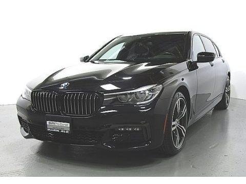 Jet Black 2018 BMW 7 Series 740i Sedan
