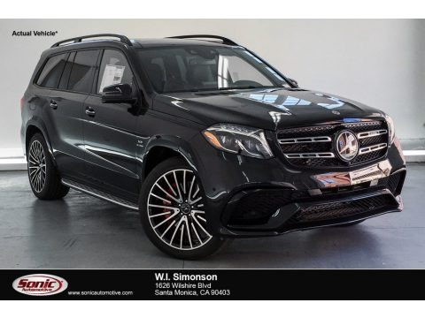 Obsidian Black Metallic 2019 Mercedes-Benz GLS 63 AMG 4Matic