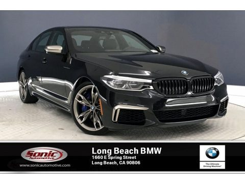 Black Sapphire Metallic 2020 BMW 5 Series M550i xDrive Sedan