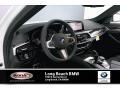BMW 5 Series M550i xDrive Sedan Alpine White photo #4