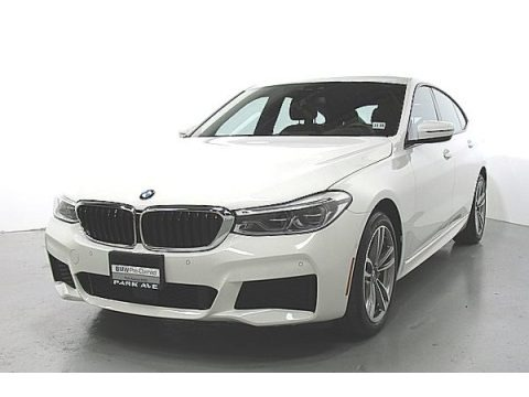 Alpine White 2019 BMW 6 Series 640i xDrive Gran Turismo