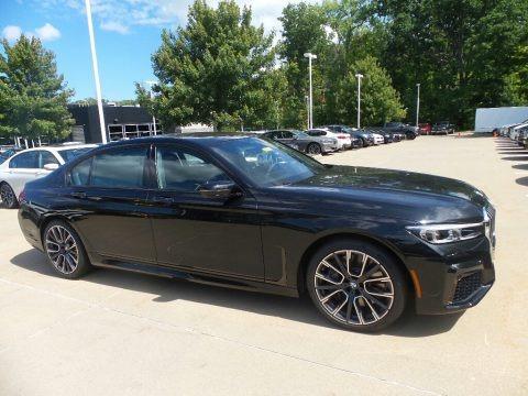 Black Sapphire Metallic 2020 BMW 7 Series 750i xDrive Sedan