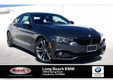Mineral Grey Metallic 2020 BMW 4 Series 430i Coupe