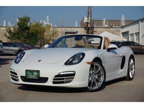 White 2013 Porsche Boxster