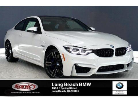 Mineral White Metallic 2020 BMW M4 Coupe