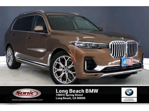 Vermont Bronze Metallic 2020 BMW X7 xDrive40i