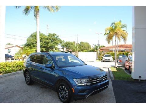 Stone Blue Metallic 2019 Volkswagen Tiguan SE