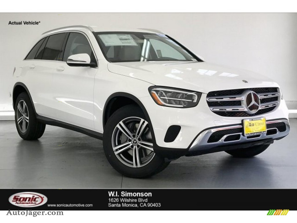 2020 GLC 300 - Polar White / Silk Beige photo #1