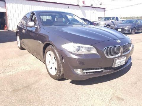 Carbon Black Metallic 2012 BMW 5 Series 528i Sedan