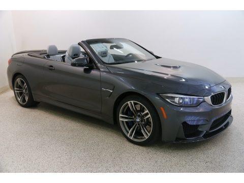 Mineral Grey Metallic 2018 BMW M4 Convertible