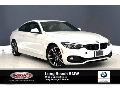 Alpine White 2020 BMW 4 Series 430i Coupe