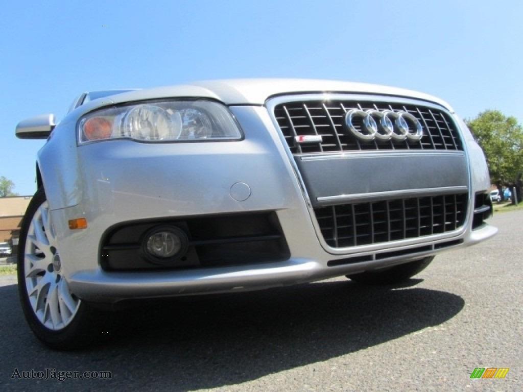 2008 A4 2.0T Special Edition quattro Sedan - Light Silver Metallic / Black photo #1
