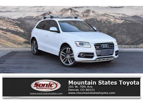 Glacier White Metallic 2014 Audi SQ5 Premium plus 3.0 TFSI quattro