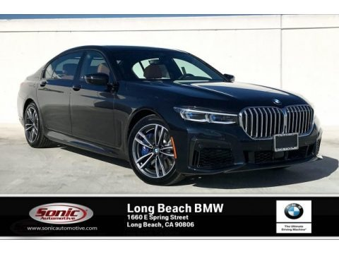 Carbon Black Metallic 2020 BMW 7 Series 750i xDrive Sedan