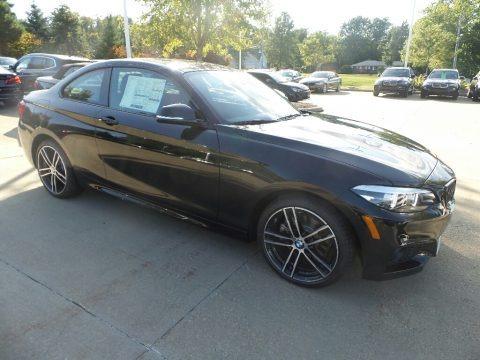 Black Sapphire Metallic 2020 BMW 2 Series 230i xDrive Coupe