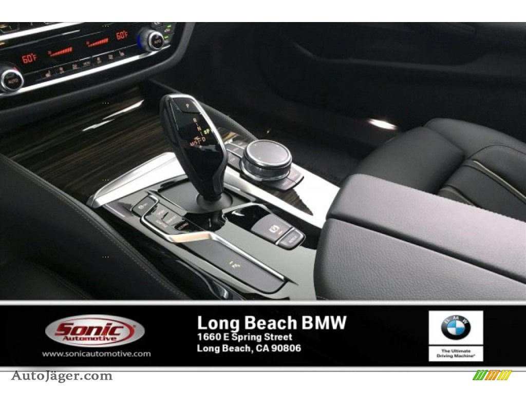 2020 5 Series M550i xDrive Sedan - Carbon Black Metallic / Black photo #6