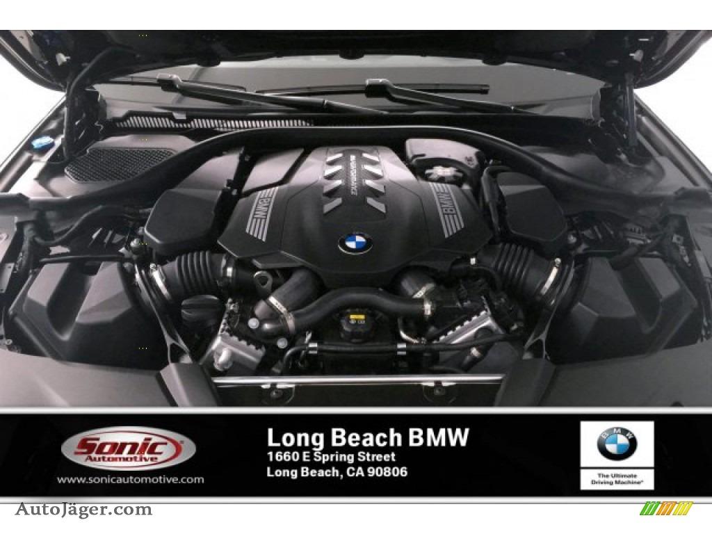 2020 5 Series M550i xDrive Sedan - Carbon Black Metallic / Black photo #8