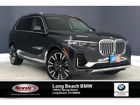 Dark Graphite Metallic 2020 BMW X7 xDrive40i