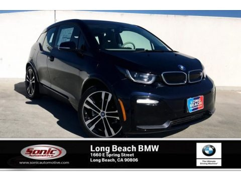 Imperial Blue Metallic 2019 BMW i3 S with Range Extender