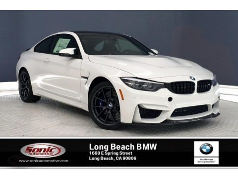 Alpine White 2020 BMW M4 Coupe