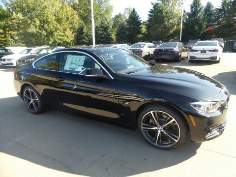 Jet Black 2020 BMW 4 Series 430i xDrive Coupe