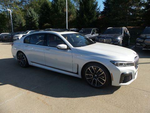 Mineral White Metallic 2020 BMW 7 Series 750i xDrive Sedan