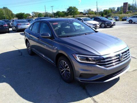Platinum Gray Metallic 2019 Volkswagen Jetta SEL