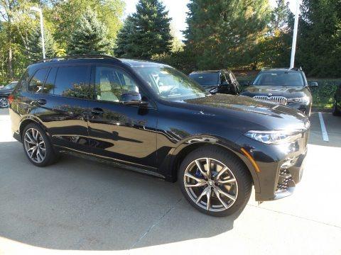 Carbon Black Metallic 2020 BMW X7 M50i