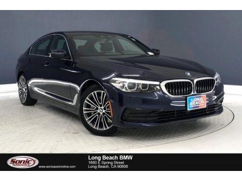 Imperial Blue Metallic 2019 BMW 5 Series 530i Sedan