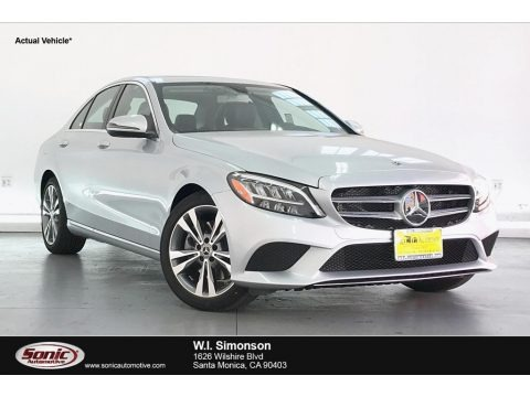 Iridium Silver Metallic 2020 Mercedes-Benz C 300 Sedan