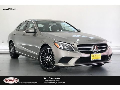 Mojave Silver Metallic 2020 Mercedes-Benz C 300 Sedan