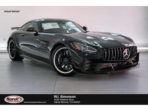 Black 2020 Mercedes-Benz AMG GT R Coupe