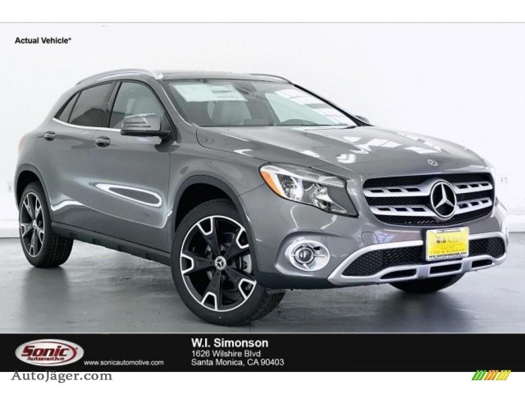2020 GLA 250 - Mountain Grey Metallic / Crystal Gray photo #1