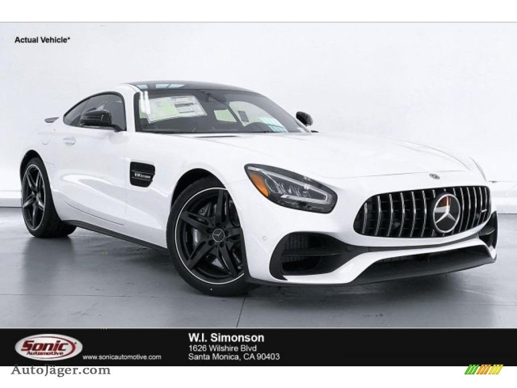2020 AMG GT Coupe - designo Diamond White Metallic / Black photo #1