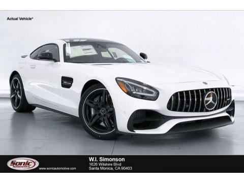 designo Diamond White Metallic 2020 Mercedes-Benz AMG GT Coupe