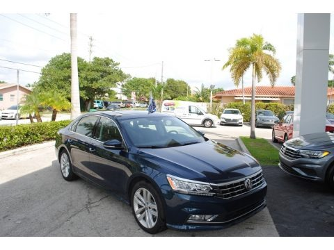 Tourmaline Blue Metallic 2018 Volkswagen Passat SE